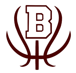 Bowie, Texas jackrabbits logo like a basketball