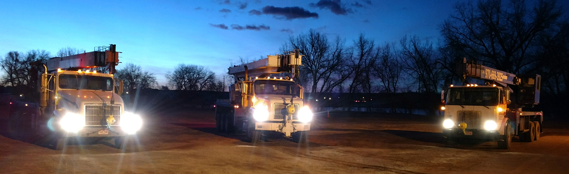 Brocc Equipment Boom Trucks