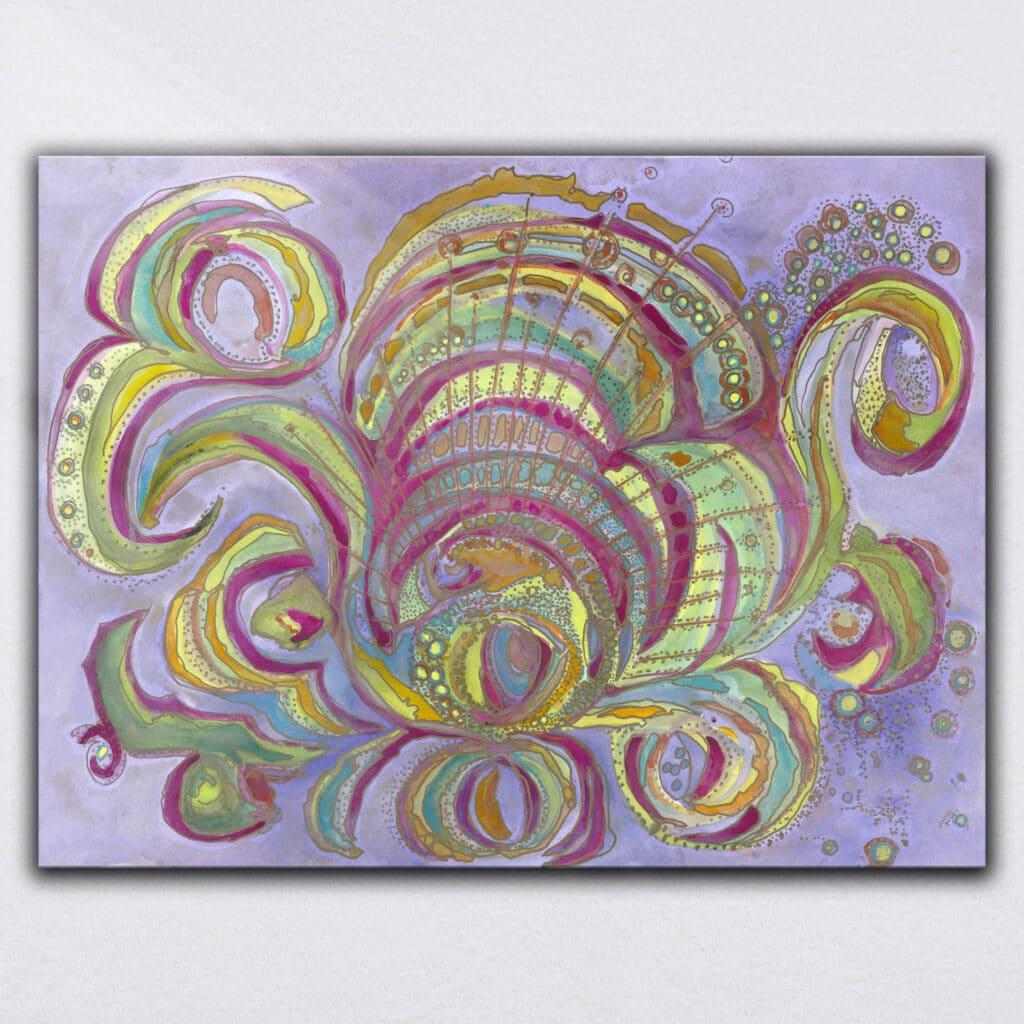 Consciousness Watercolor