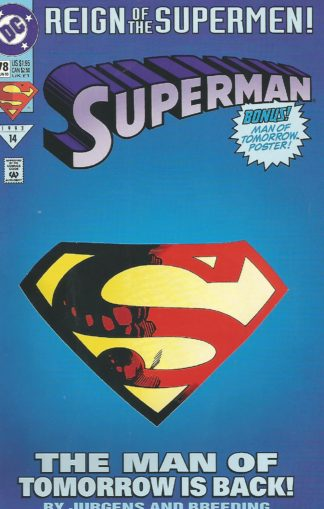 Superman Vol 2 #78