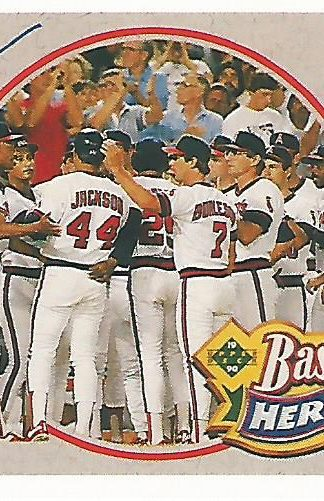 1990 Upper Deck Jackson Heroes #06 Reggie Jackson
