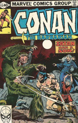 Conan the Barbarian #113
