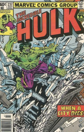 Incredible Hulk Volume 2 #237