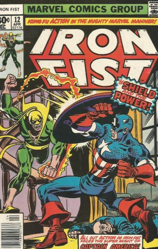 Iron Fist #012