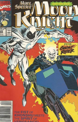 Marc Spector Moon Knight 25