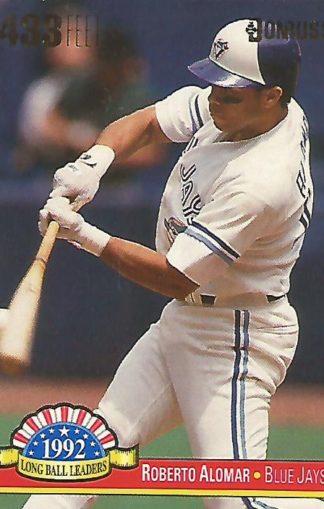 1993 Donruss Long Ball Leaders #LL8 Roberto Alomar