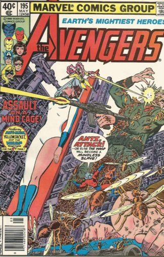 Avengers #195