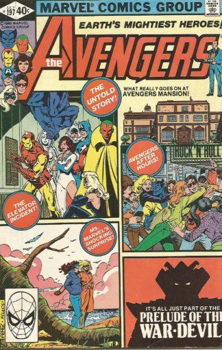 Avengers #197