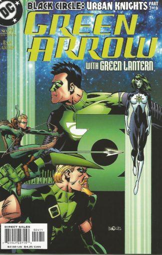 Green Arrow Volume 3 #024