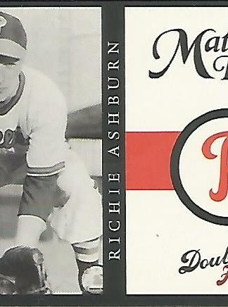 2003 Fleer Double Haeder Matinee Idols #2 Richie Ashburn
