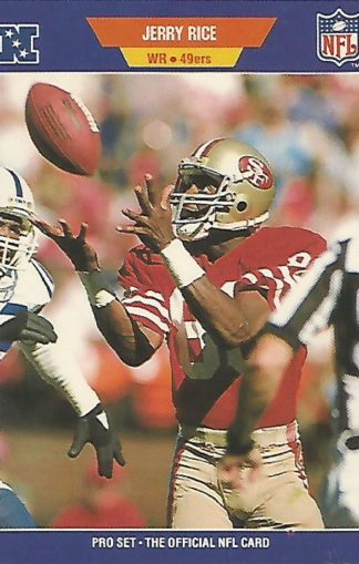 1989 Pro Set #383 Jerry Rice