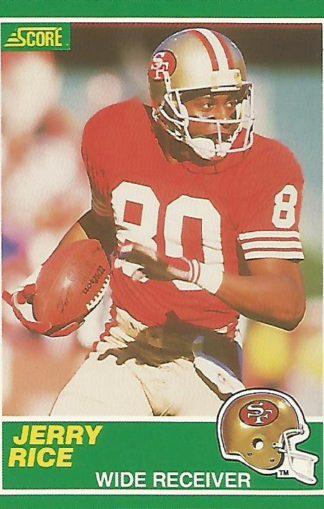 1989 Score #221 Jerry Rice