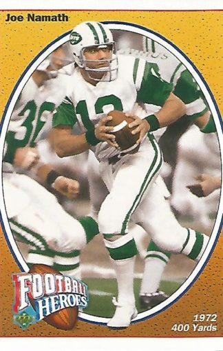 1991 Upper Deck Joe Namath Heroes #016