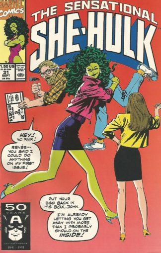 Sensational She-Hulk Volume 2 #031