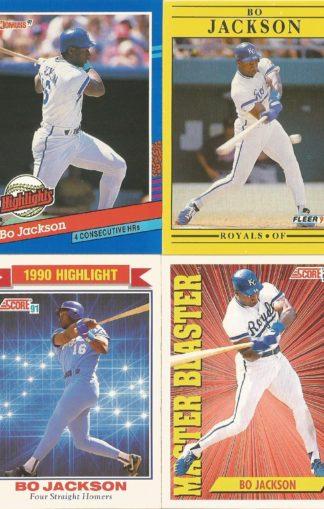 Bo Jackson Cards (2)