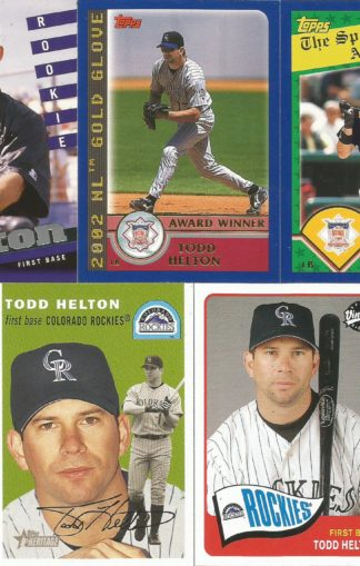 Todd Helton Cards