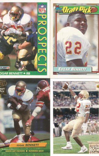 Edgar Bennett Rookie Cards