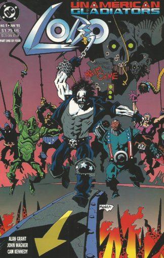 Lobo Unamerican Gladiators #001