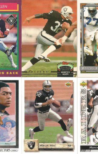 Marcus Allen Cards Lot 4