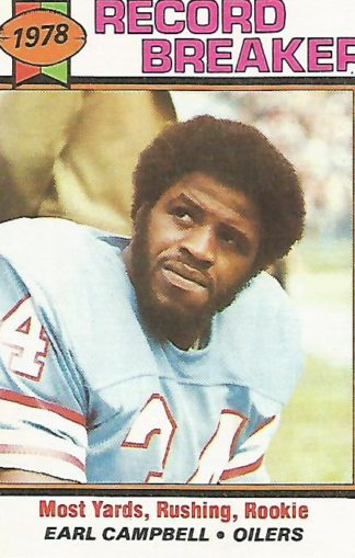 1979 Topps #331 Earl Campbell