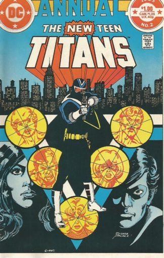 New Teen Titans Annual #002