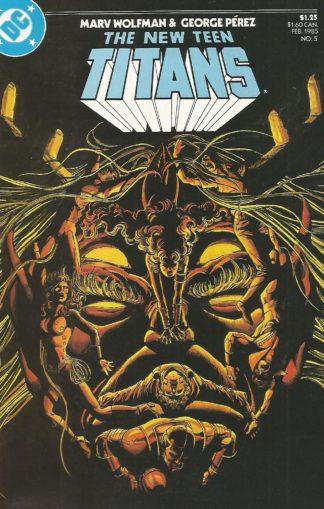 New Teen Titans Volume 2 #005