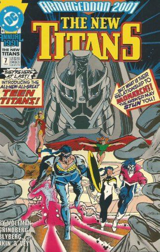 New Titans Annual #007