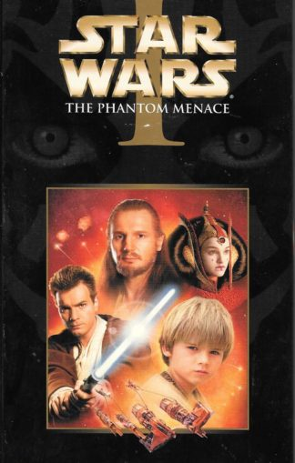 Star Wars I The Phantom Menace VHS