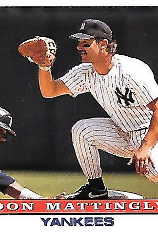 1993 Topps #032 Don Mattingly