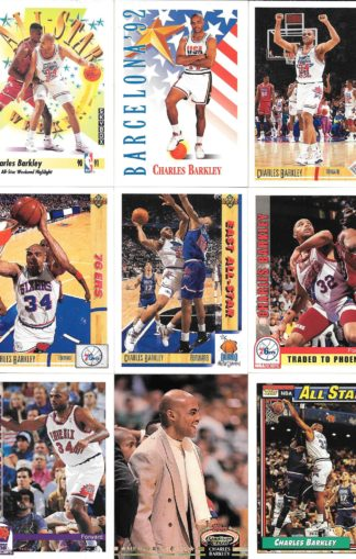 Charles Barkley Cards Lot 3