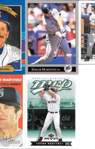 Edgar Martinez Cards