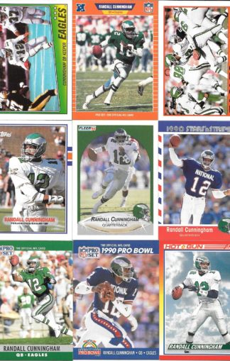 Randall Cunningham Cards Lot 1