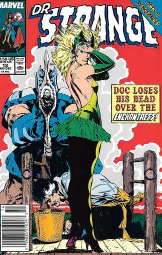 Doctor Strange, Sorcerer Supreme #012