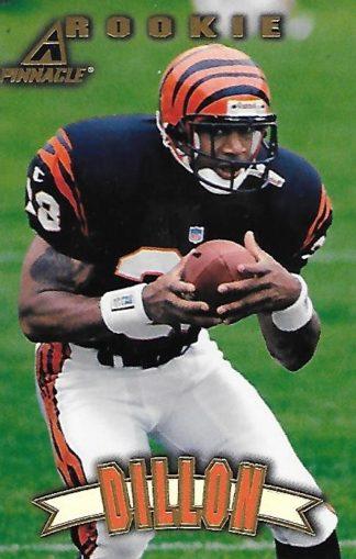 1997 Pinnacle #166 Corey Dillon Rookie