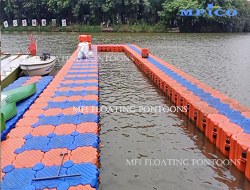 water sports floating jetty