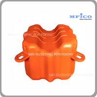 modular floating pontoons V shape
