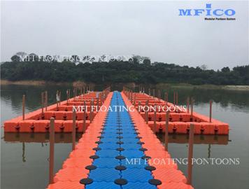 fish farm floating dock
