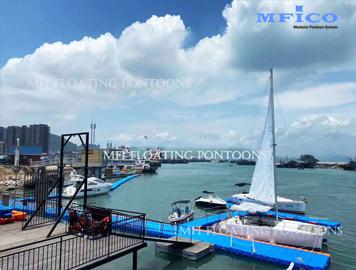 floating boat dock