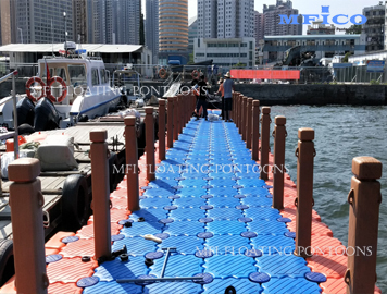 floating boat jetty