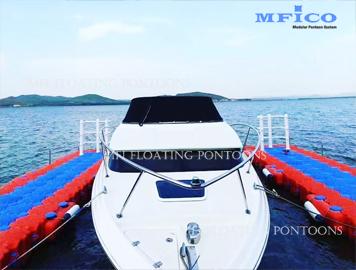 plastic floating dock