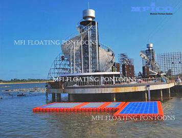 modular floating pontoon