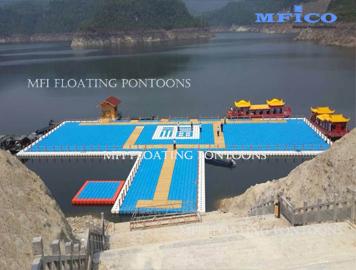 floating dock system for sales