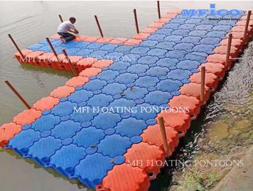 floating dock cube