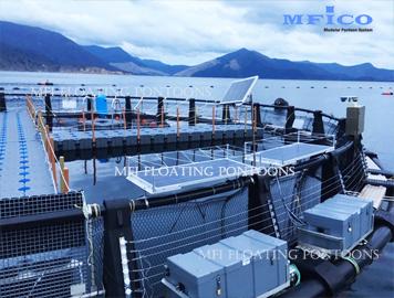 floating solar dock system
