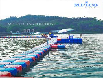 modular floating pontoons