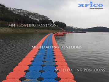 floating walkway