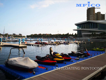 jet ski floating docks