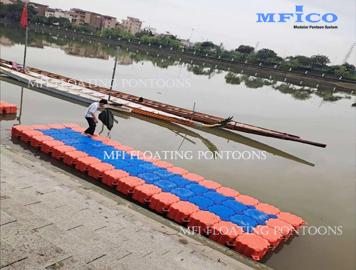 water sport floating dock