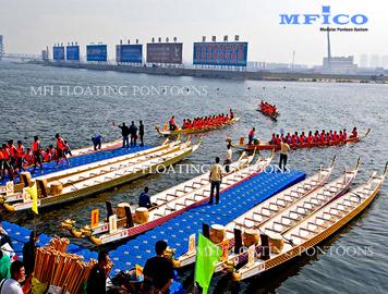 water sports floating docks