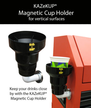 magnetic cup holder,magnetic drink holder,tractor cup holder,toolbox cup holder,cup holder with strong magnet,gifts by kaz